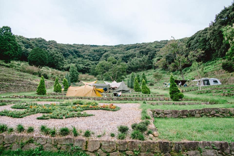 緑が多い自然の景色
